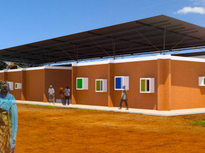 Ospedale a Loul Sessène Sénégal