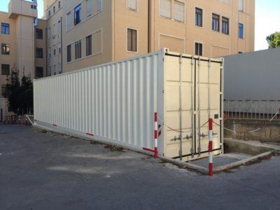 Unità mobile Trattamento Reflui Radioattivi