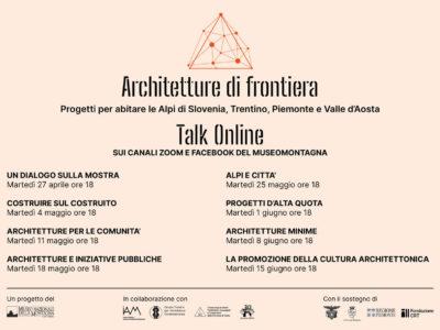Architetture di Frontiera - Talk online
